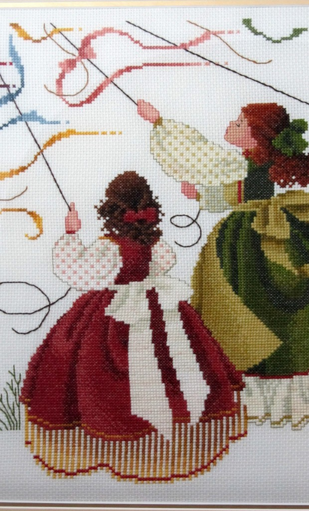 "Detail of stitching in ""Catch the Wind"" by Butternut Road - one of my all-time favourite designs."