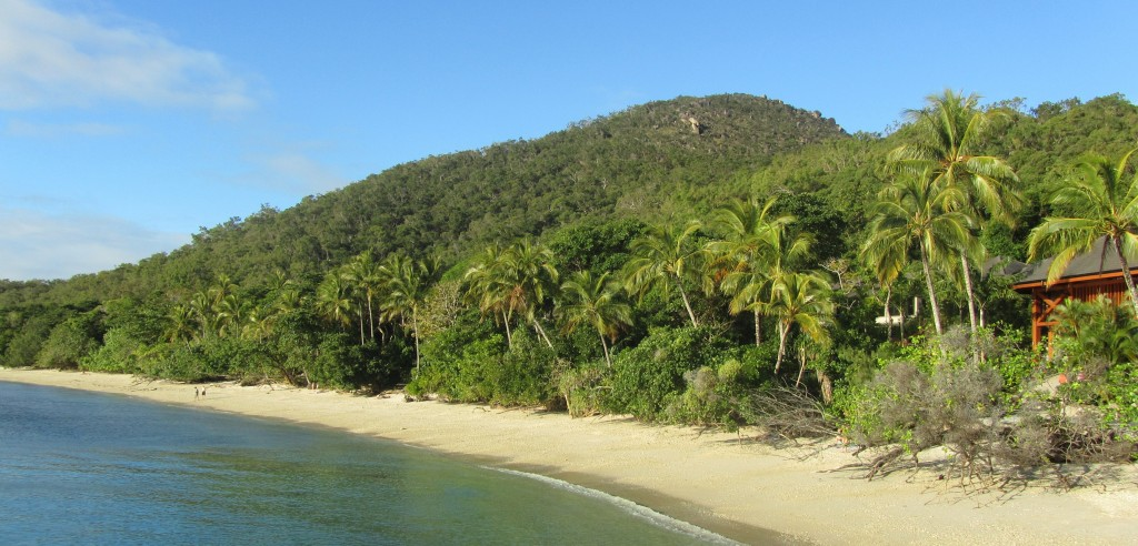 The idyllic beach at Fitsroy Island.
