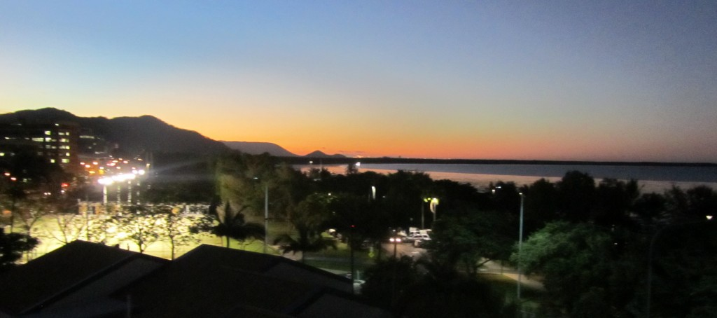 Sunset in Cairns - bliss :)