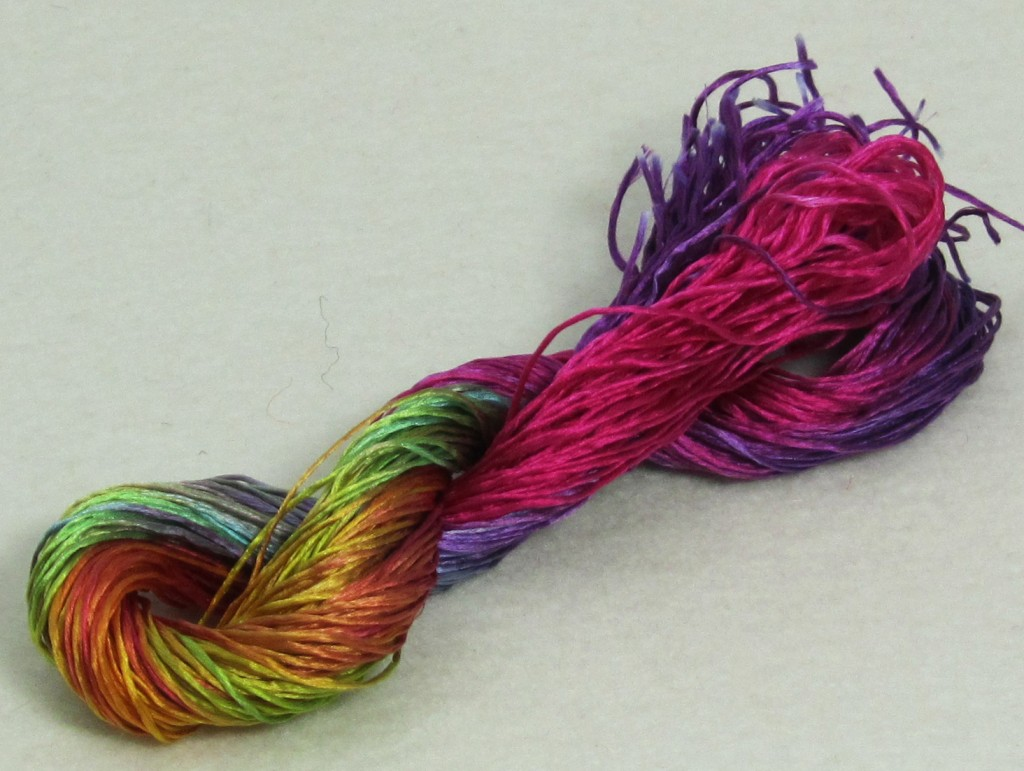 Stef Francis Filament Silk 1-49. Just look at all those luscious colours :)